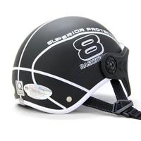 Mũ bảo hiểm Sport Superior có kính màu đen