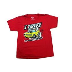 Áo thun bé trai I Drive - Tay ngắn - Size 8-9 tuổi