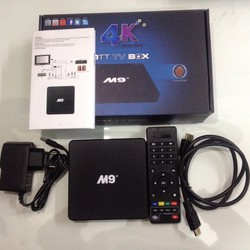 Bộ Android TV Box M9+ Ram 1GB
