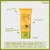 Kem Chống Nắng Dành Cho Bé Innisfree Pure Green Baby Sun Cream