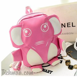 Balo voi con thời trang kiểu dáng độc đáo Màu hồng_T1042H