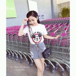 Áo thun hình chuột Mickey dễ thương