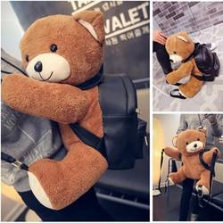 Túi xách balo gấu  size lớn đựng vừa ipad