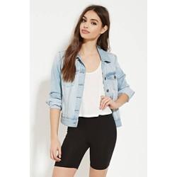 Quần legging ngắn nữ màu đen hãng Forever 21 - hàng nhập Mỹ