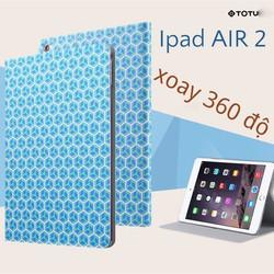 Bao da Ipad AIR 2 chính hãng Totu xoay 360 độ - Elegant