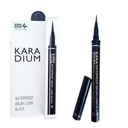 Bút dạ kẻ mắt Karadium Waterproof Brush Liner Black