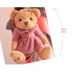 Gấu teddy bear boy size S : 45cm