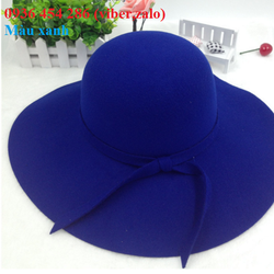nón dạ cao cấp, mũ nỉ thời trang, mũ dạ  Retro phong cách Hàn