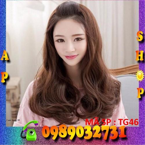 Tóc giả tơ nửa đầu Hàn Quốc kèm lưới - TG46 - 3902132 , 2848818 , 15_2848818 , 393000 , Toc-gia-to-nua-dau-Han-Quoc-kem-luoi-TG46-15_2848818 , sendo.vn , Tóc giả tơ nửa đầu Hàn Quốc kèm lưới - TG46