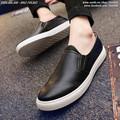 Giày slip on da bóng thời trang Hàn Quốc - Mã số: SH1601