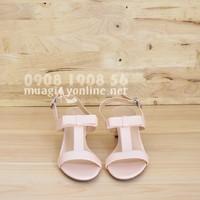 Giày sandal gót vuông 0598