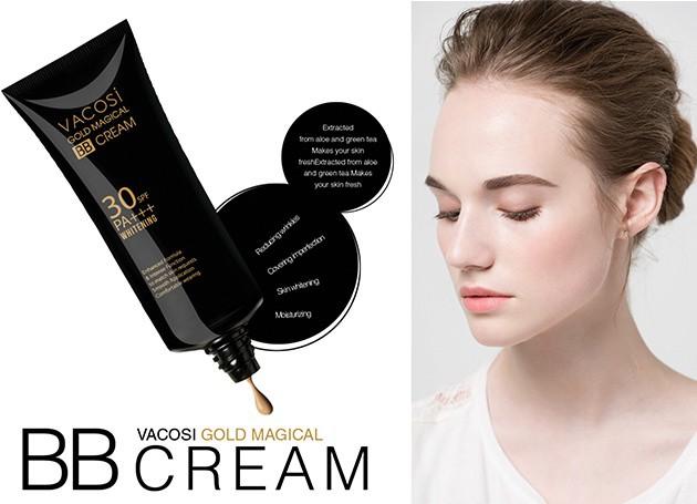 Kem Trang Điển BB Vàng Vacosi Vacosi Gold Magical BB Cream Whitening