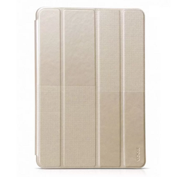 Bao da cho iPad Air 2 - Hoco Crystal-Vàng