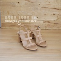 Giày sandal gót vuông 0584