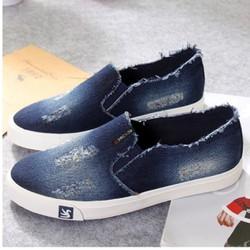 Giày Slipon vải bò nam V-SHOP G255