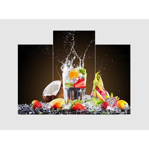Tranh nghệ thuật ly trái cây TNT33