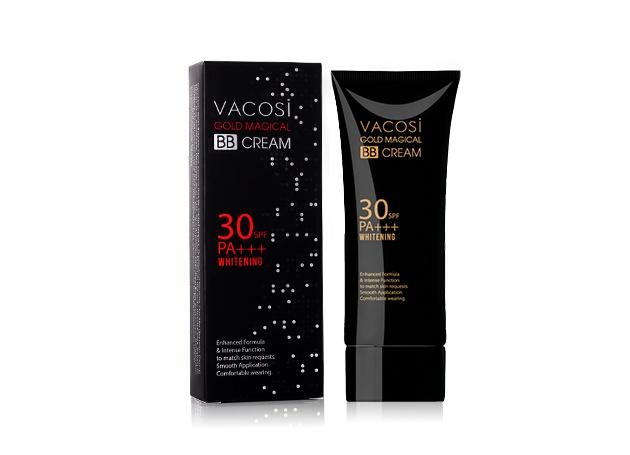 Kem trang điểm Vacosi Gold Magical BB Cream Whitening