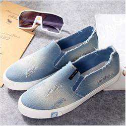 Giày Slipon vải bò nam V-SHOP G257