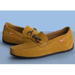 Giày cao nam 5.5 cm da thật HQ 661 nâu