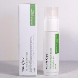 Nước hoa hồng The Minimum Toner For Sensitive Skin