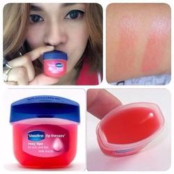 Son dưỡng môi Vaseline Rosy Lips Therapy