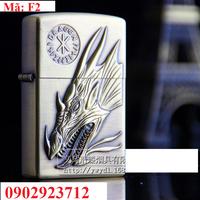 Bật lửa Zippo Đầu Rồng - F2