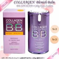 Kem nền BB Collagen Cellio Hàn Quốc 40ml - Số 21,23 chính hãng