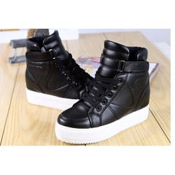 Giày cổ cao tăng chiều cao Hàn Quốc