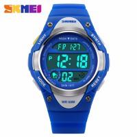 Đồng hồ trẻ em Skmei 1077 màu xanh dương trẻ trung