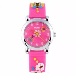Đồng hồ trẻ em Skmei 1047C màu hồng đậm