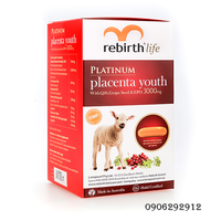 Nhau Thai Cừu Rebirth Platinum Placenta Youth