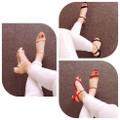giày cao gót đế vuông