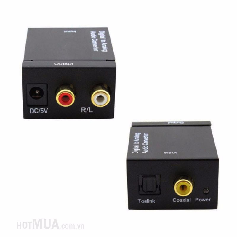 Bộ chuyển OPTICAL sang AUDIO AV - OPTICAL sang AUDIO AV 2