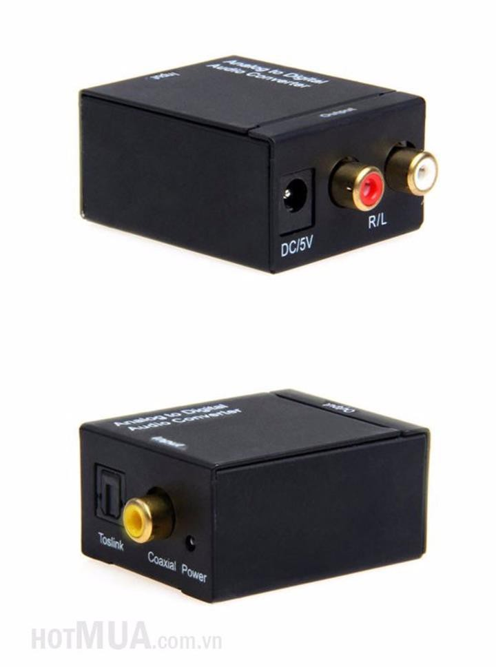 Bộ chuyển OPTICAL sang AUDIO AV - OPTICAL sang AUDIO AV 6
