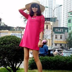 Đầm suông - made in VN - hình chụp thật
