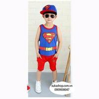BỘ BA LỖ SUPER MAN XANH