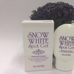 GEL ĐẶC TRỊ THÂM SECRET KEY SNOW WHITE SPOT GEL