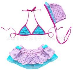 Đồ bơi bikini bé gái S007