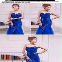 Đầm da hội cúp ngực sexy phối ren thời trang thiết kế DDH212