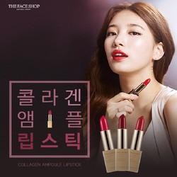 [chính hãng] Son môi Collagen Ampoule TheFace Shop - màu 8,9,10,11,12