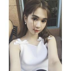 Đầm Suông Đính Nơ Dễ Thương Như Ngọc Trinh 2703