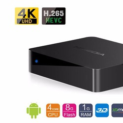 Tivi box Android TV Smart box HiMedia Q1 IV