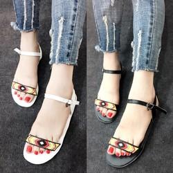 HÀNG CAO CẤP LOẠI I - Giày sandal nữ sắc màu