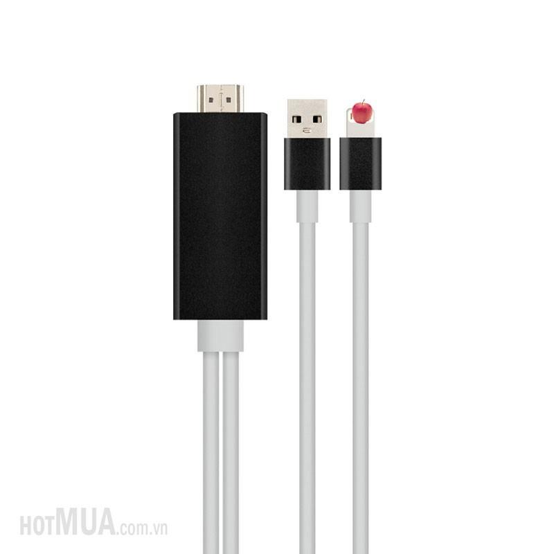 Cáp iPhone 5-6 to HDMI - iPhone 5,6,6plus-iPad 5,6, iPad Pro 5