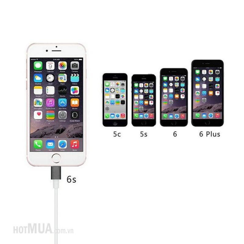 Cáp iPhone 5-6 to HDMI - iPhone 5,6,6plus-iPad 5,6, iPad Pro 2