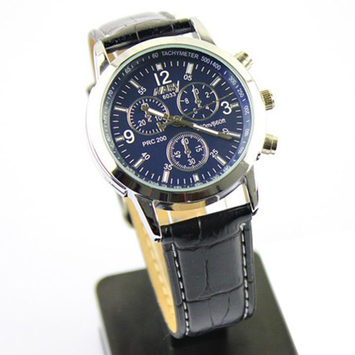 Đồng hồ dây da Nary AL75 8