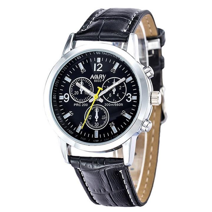 Đồng hồ dây da Nary AL75 3