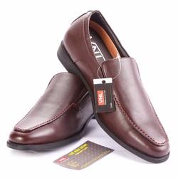 Giày tây nam da thật cao cấp chính hãng màu nâu-www.Caganu.com