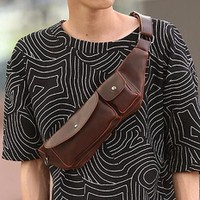 DC030 - Túi đeo da Messenger thời trang 2016 Praza