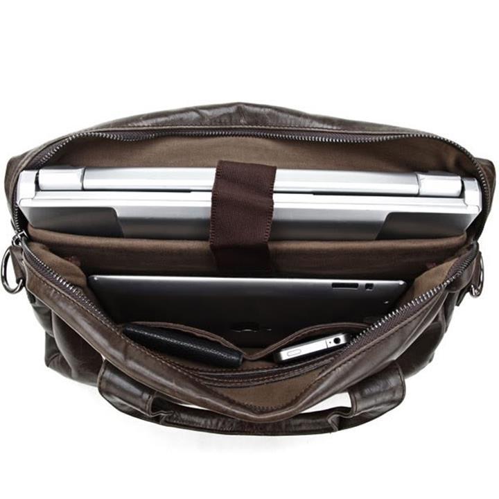 Túi xách da nam RB306BR 6